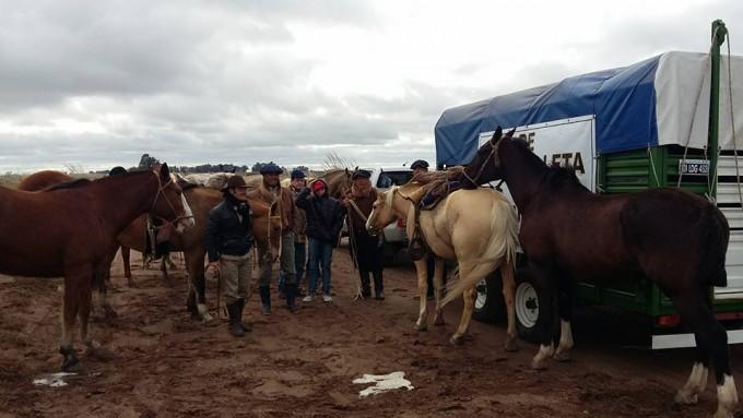Los peregrinos siguen rumbo a Luján