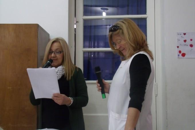 La escuela Nº 13 de Pirovano despidió a su Vicedirectora Roxana Luna