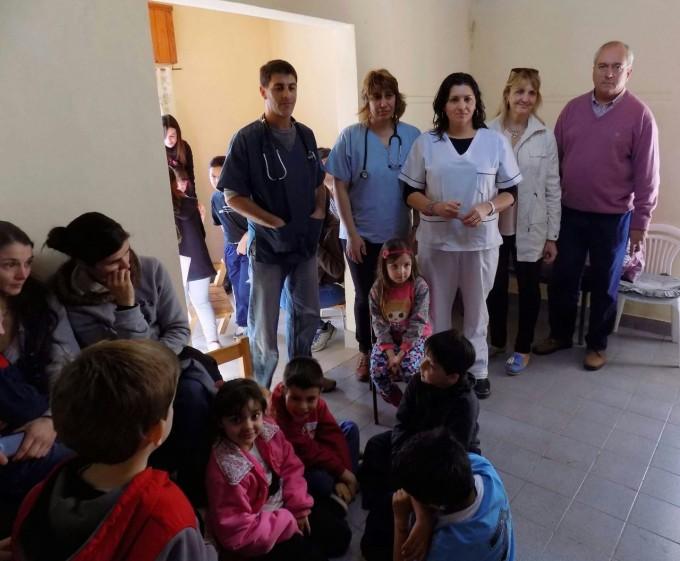 PROSANE: Se realiza un control de salud en niños de las escuelas