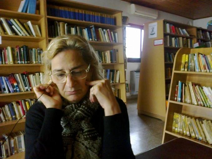 Mes de las Bibliotecas: Lucrecia Guagliarello visitó 'Radio Urdampilleta'