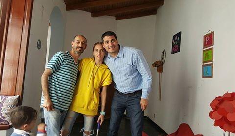 La Dirección de Cultura visitó una vez más Urdampilleta