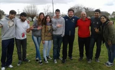 Chorén, la Juventud Radical, Concejales, y Consejeros Escolares en el Festejo del Día del Niño