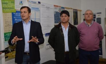 Bucca encabezó la inauguración de la Oficina de Tránsito en Urdampilleta
