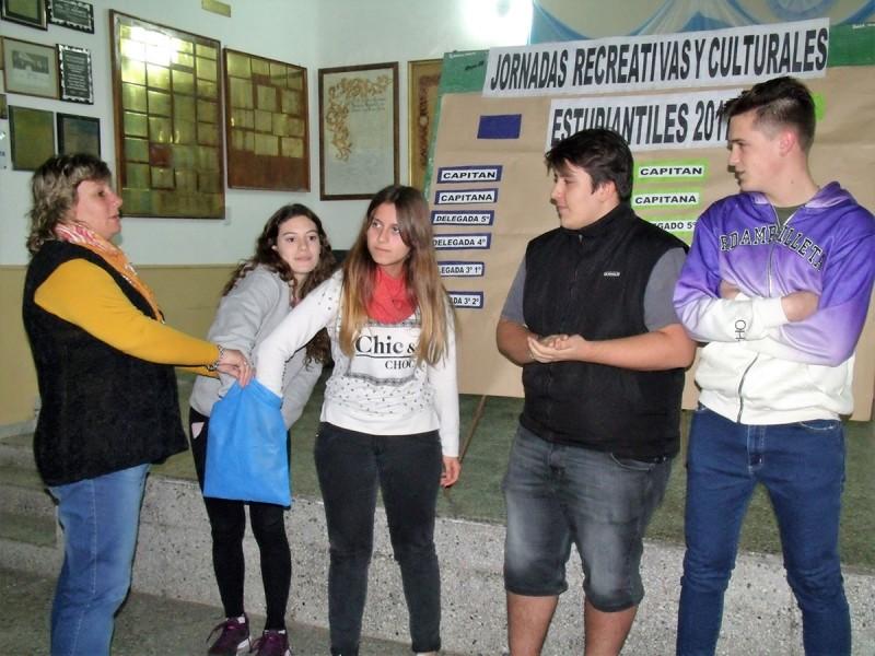 Jornadas Recreativas y Culturales Juveniles 2017: Se presentaron oficialmente