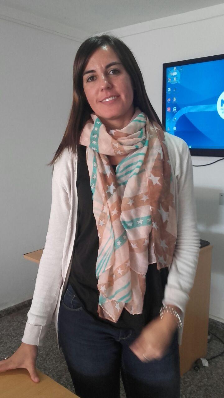 Micaela Guinea, Directora de Bromatología, visitó Urdampilleta e hizo anuncios
