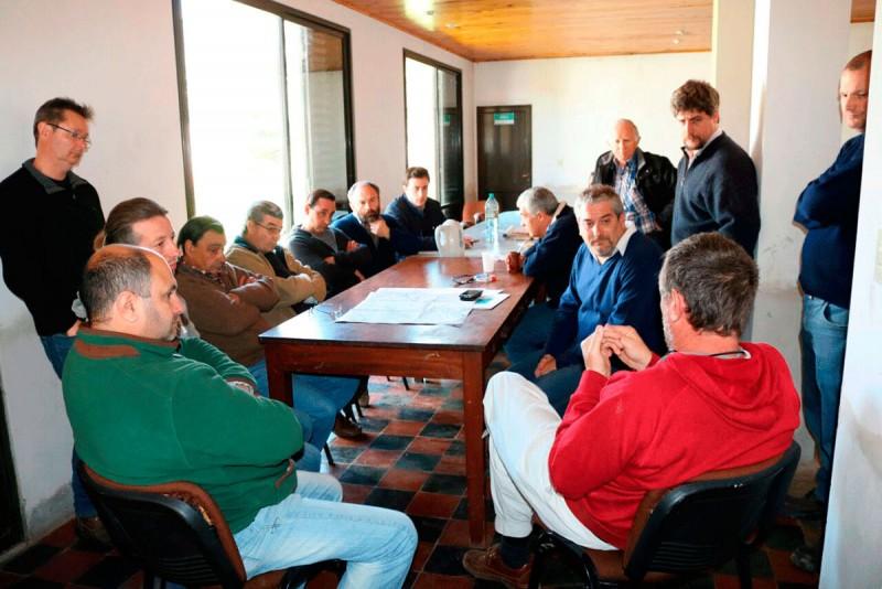 Bolívar y 25 de Mayo firmaron un convenio para regular la cuenta Hale/Del Valle