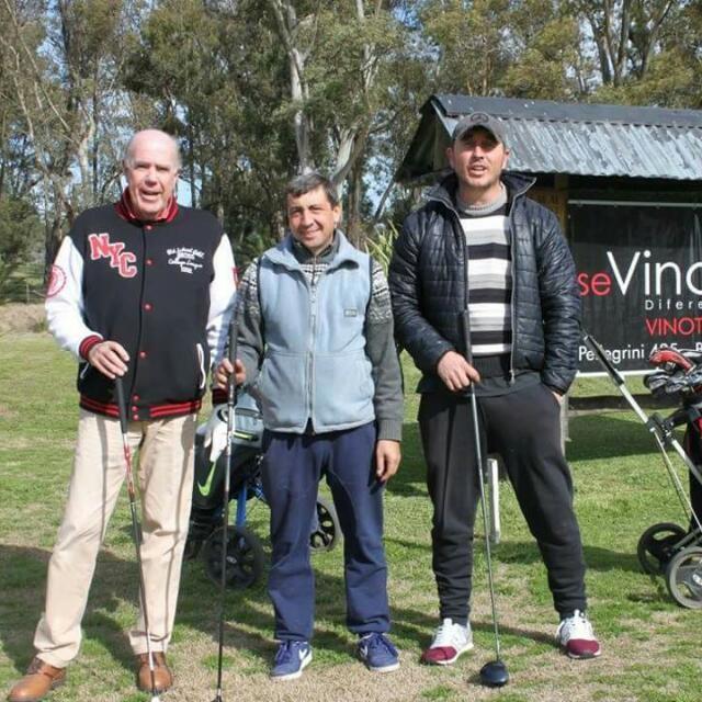 Jorge'Negrito' Martinez: 'Lo lindo es compartir un día con amigos y hacer un deporte como es el Golf'