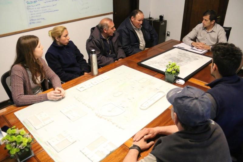 El Intendente se reunió con miembros de Parque Industrial para anunciarles un nuevo convenio