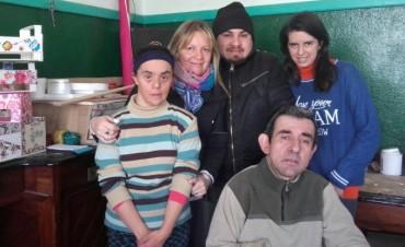 Radio Urdampilleta visitó el 'Taller Protegido' y mostraron sus trabajos realizados