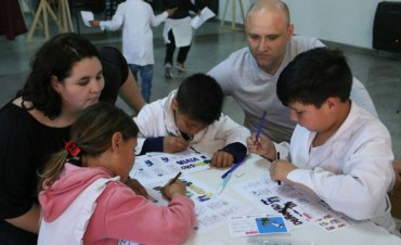 DDHH y Niñez en Villa Diamante: se realizó una jornada por los derechos de niños, niñas y adolescentes