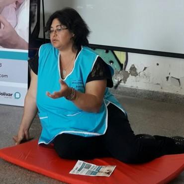 Nelida Vallejos: 'Es muy importante el primer contacto de la mama con el recien nacido'