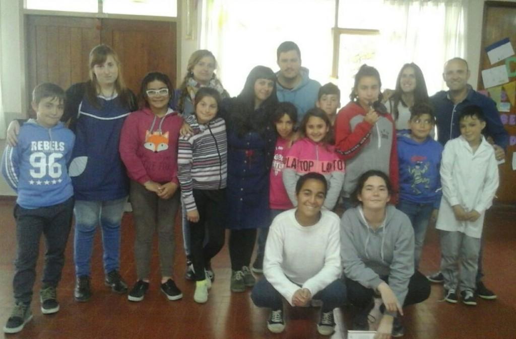 Niñez brindó un taller de promoción de derechos en Urdampilleta