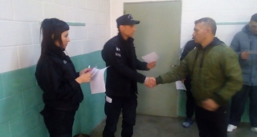 Unidad 38: fueron certificados 32 internos en capacitaciones No Formales