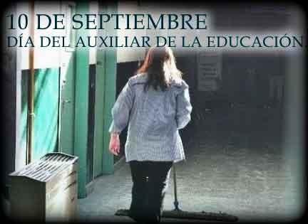 Día del auxiliar de educación