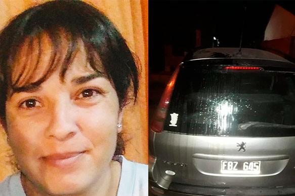 """Marita Gómez: """"Hice la denuncia porque un vecino me derramó aceite sobre mi auto y hace mucho tiempo que nos genera problemas"""""""