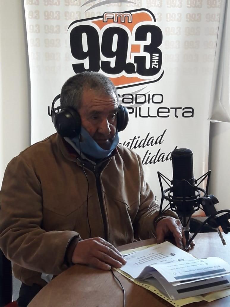 """Ruben Malcorrea: """"Nosotros sanamos a las personas con el aceite, esto viene de la época de los camiones"""""""