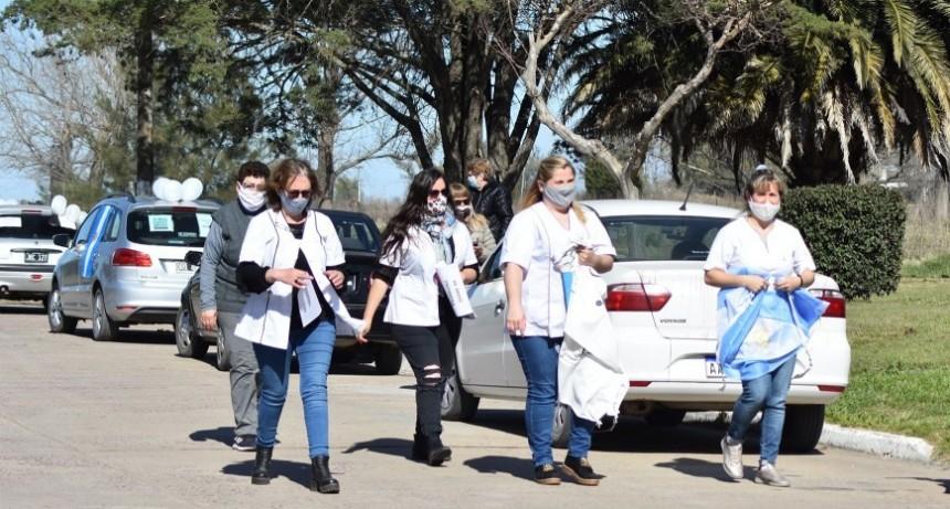 Los enfermeros manifiestan no querer politizar su lucha