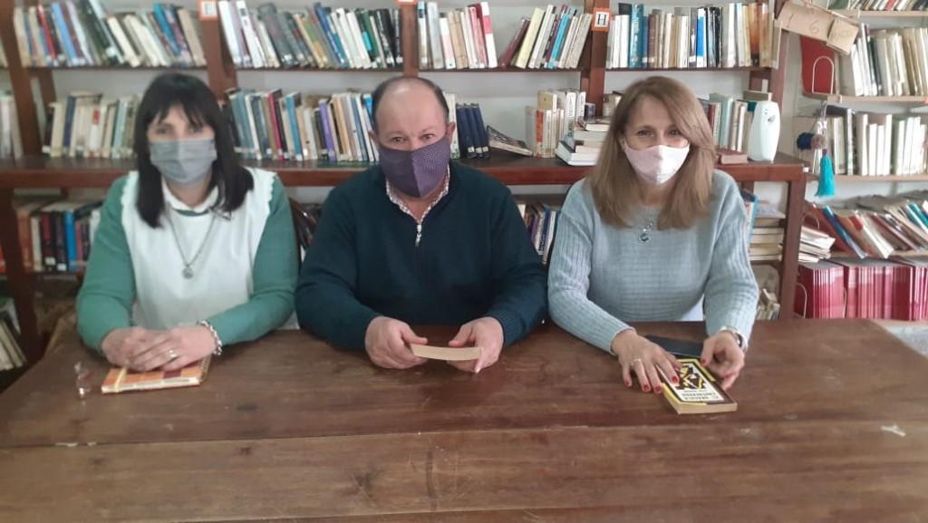 Se retoman las actividades presenciales en la Biblioteca Popular Sarmiento