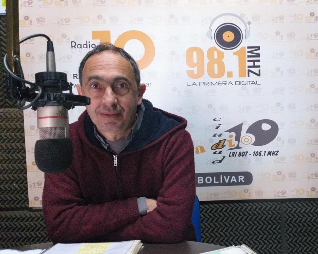 Luciano Carballo Laveglia; 'Le pedimos a la gente que no tenga miedo de participar y que sepa que nuestra propuesta es escucharlos y estamos comprometidos en eso'
