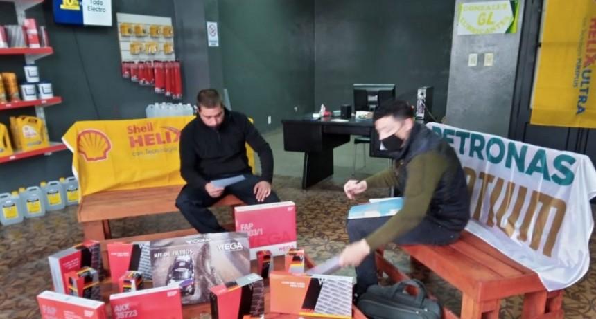 Lubricentro GL; Un nuevo emprendimiento local apostando al crecimiento comercial de Urdampilleta