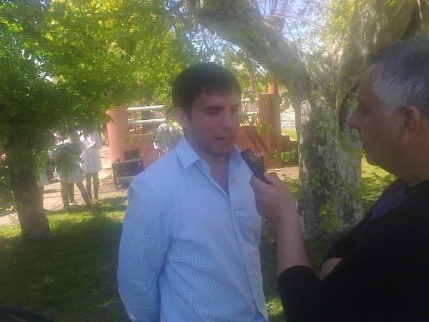 Pirovano: El granizo no ocasionó daños que lamentar