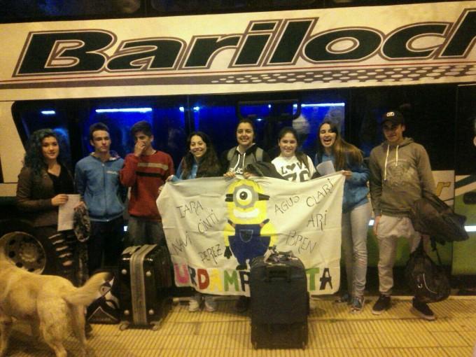 Los chicos de la E.S Nº3 partieron hacia Bariloche