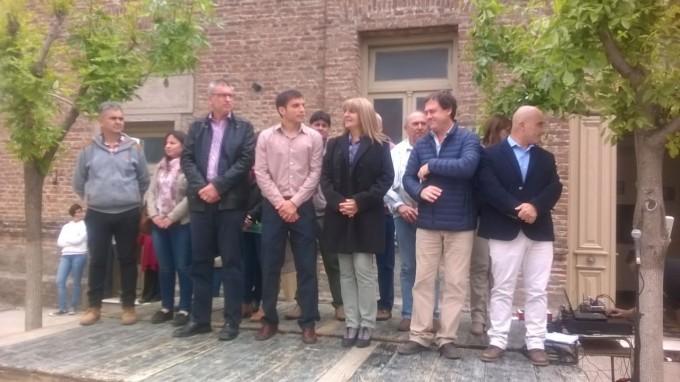 Marcelo Salamanco presente en el aniversario Nº 103 de la localidad de Pirovano