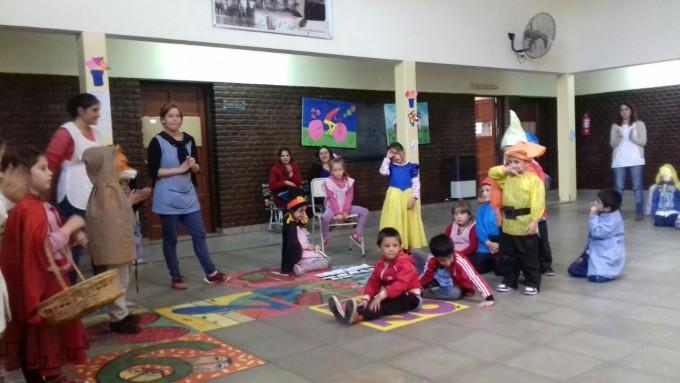 Actividades de articulación entre Escuela Nº54 y Jardín de Infantes Nº902