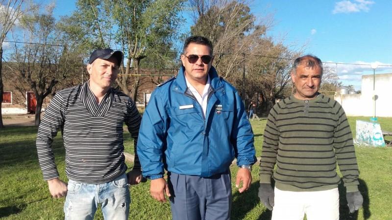 Personal de Unidad Penitenciaria 17 realiza trabajos de restauración en Parque Avellaneda
