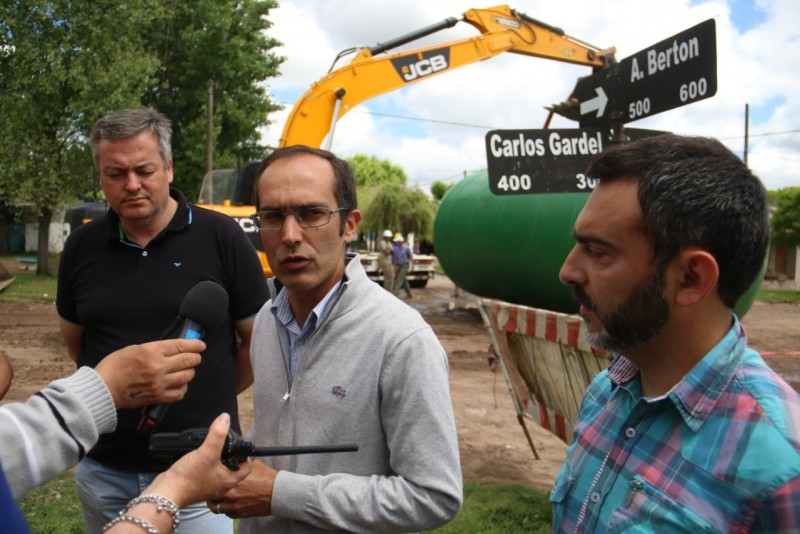 Se colocó una Planta Presurizadora de agua en Villa Diamante