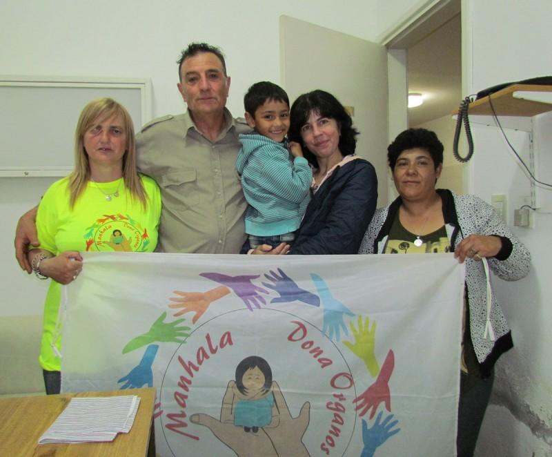 Luis Perez recibió la insulina que necesita de la mano de la ONG 'Manhala' de 9 de Julio