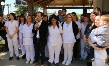 En Bolívar: Pisano inauguró la puesta en valor de Casa Hogar