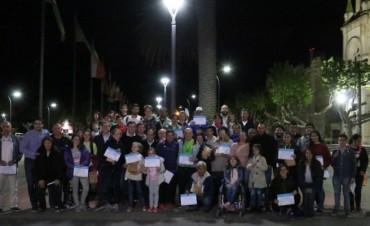 El Municipio homenajeó a los participantes de los Juegos Bonaerenses