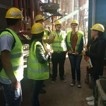 Oficina de Empleo: Alumnos del curso de 'Introducción al Trabajo', visitaron la planta de Cargill en Ibarra