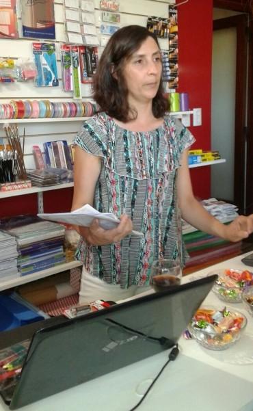 Papelera Libreria M y B: Su propietaria contó las novedades de Comunión