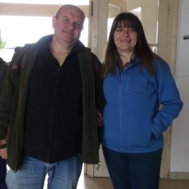 El Ministerio de Desarrollo Social de la Provincia y Nación entregó chapas y tirantes en las instituciones de Urdampilleta y Pirovano