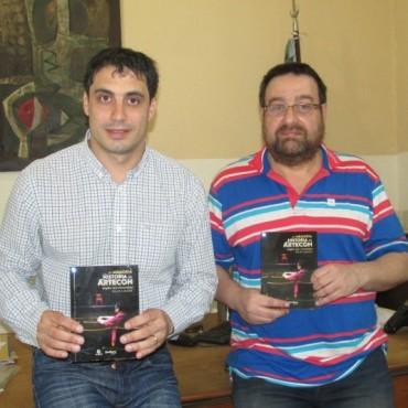 Cultura presentó la Editorial Municipal del Centro y su primer libro