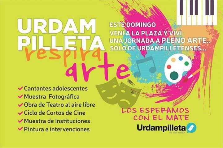 Urdampilleta respirara arte este próximo domingo 7 en la Plaza San Martín