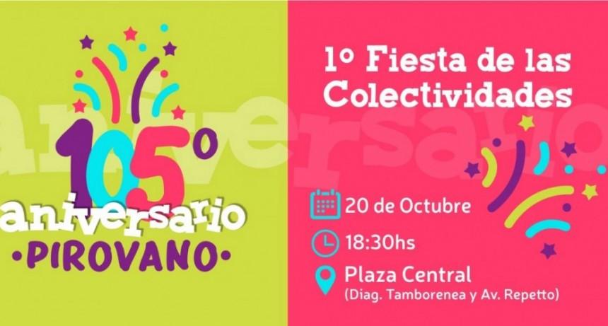 Pirovano celebra su 105º aniversario con una espectacular Fiesta de Colectividades