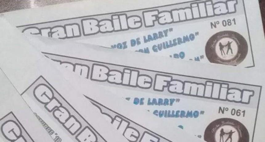 Gran Baile Familiar en la Sociedad Española de Urdampilleta