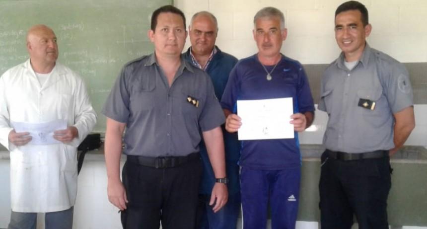 Unidad 17: Se realizó la entrega de certificados del curso de Operador de Riego