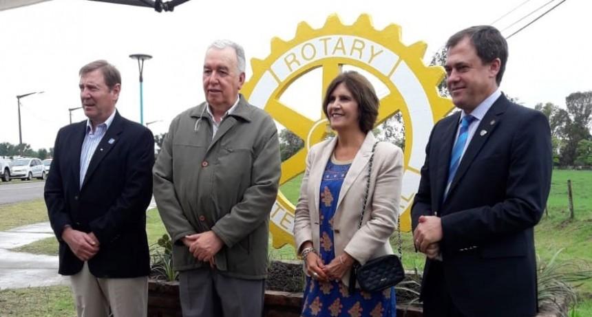 Quedo oficialmente constituido el Rotary Club Urdampilleta