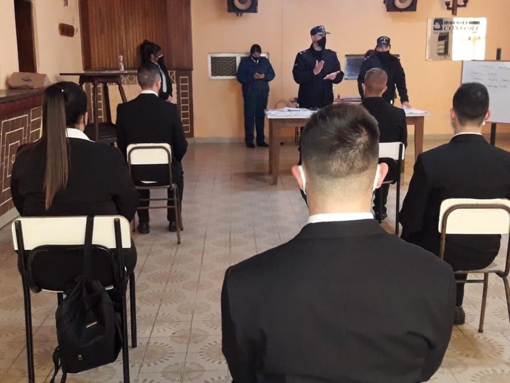 Ingresaron cuarenta nuevos penitenciarios en la Unidad N°2 de Sierra Chica