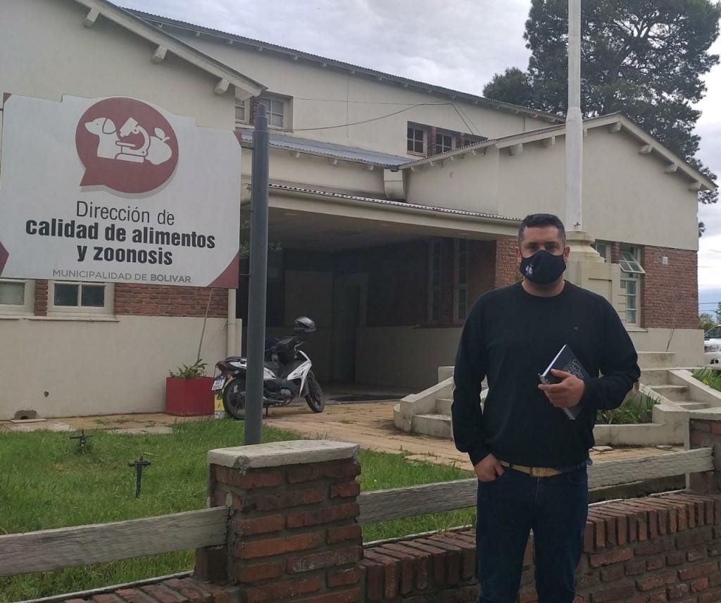 """Enzo Solondoeta: """"La prevención debe ser permanente, el Dengue es un riesgo latente para las personas"""""""