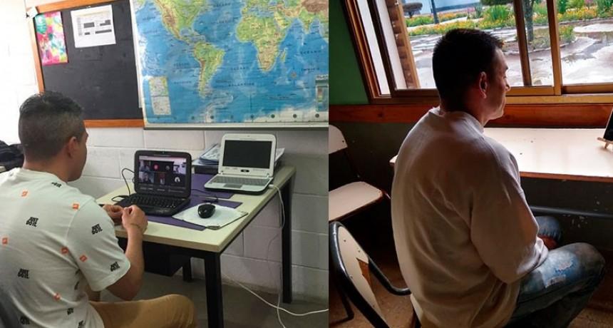 Más de 20 alumnos privados de libertad comenzaron a rendir exámenes virtuales en la UNICEN