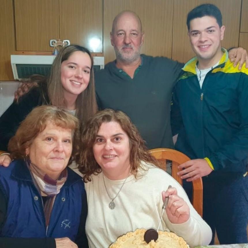 """Fabiana Garrote: """"Trataré de recuperar tiempo con mi madre y mis hijos que están estudiando"""""""