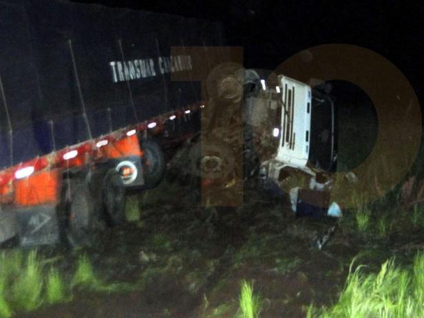 Un camionero muerto en un accidente acaecido en la Ruta Provincial 65, entre Pirovano y daireaux
