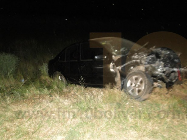 Integrantes de una familia de Urdampilleta sufrieron un grave accidente