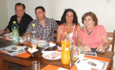 El Vicepresidente de la Cámara Comercial de Bolívar, visitó a comerciantes locales