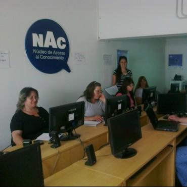 Comenzó el curso de computación básica en el NAC